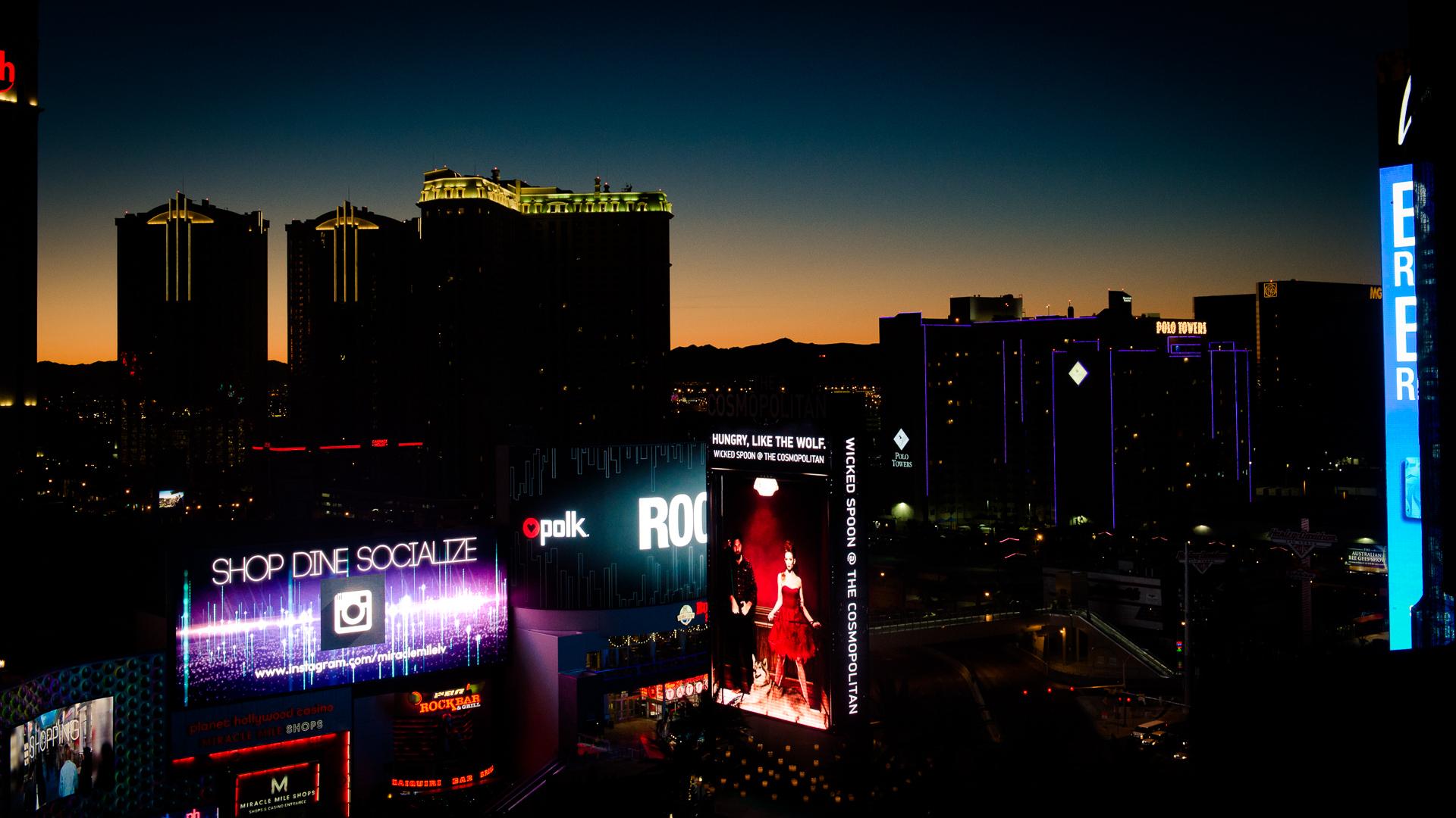 Viva las Vegas – willkommen in der Stadt, die wirklich niemals schläft!