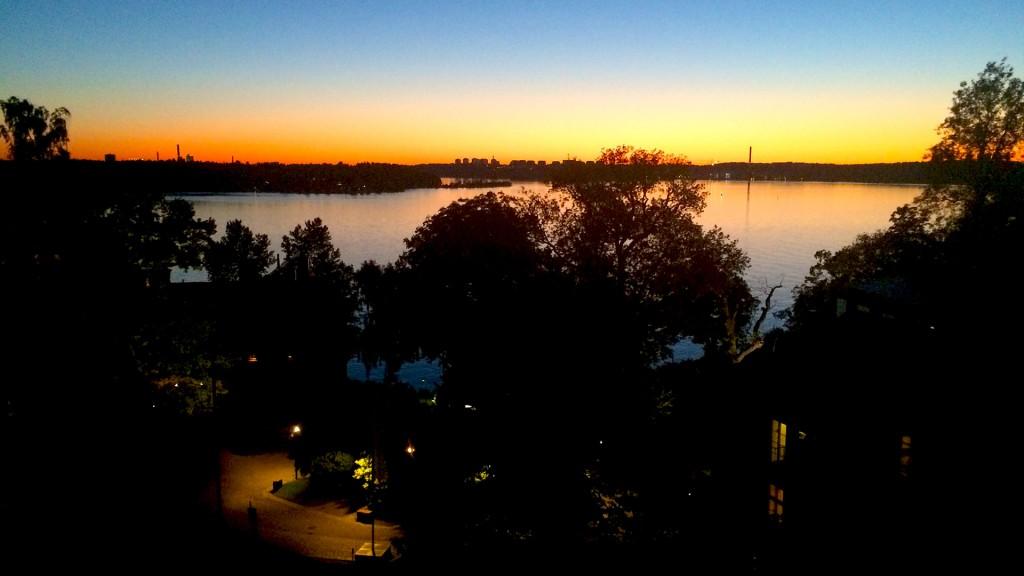 schweden-sonnenuntergang-Stockholm